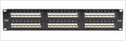 SpaceGAIN™ 45° Angled-Port Patch Panels