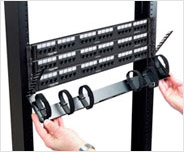 Zero U-Height Cable Manager