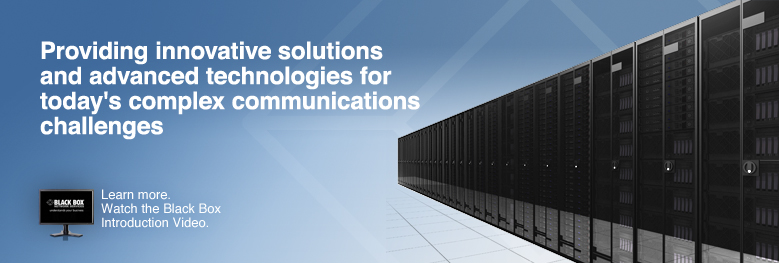 Your Single Source for Communications & Infrastructure Technology Solutions