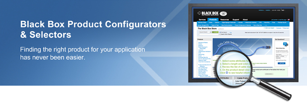 Black Box Product Configurators and Selectors