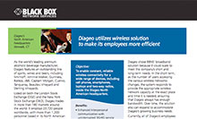 Diageo utilizes comprehensive wireless solutions