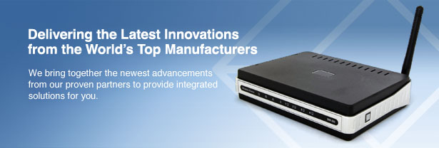 Delivering the latest innovations from the world's top manufacturers