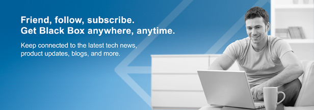 Friend, follow, subscribe. Get Black Box anywhere, anytime.