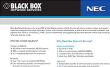 Why NEC Unified Solutions?