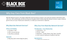 Why Trust Black Box for Your Cisco Needs