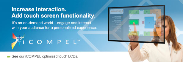 Increase interaction. Add touch screen functionality.