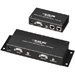 Compact CAT5 Audio/Video Splitters
