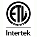 INTERTEK ETL™ VERIFIED